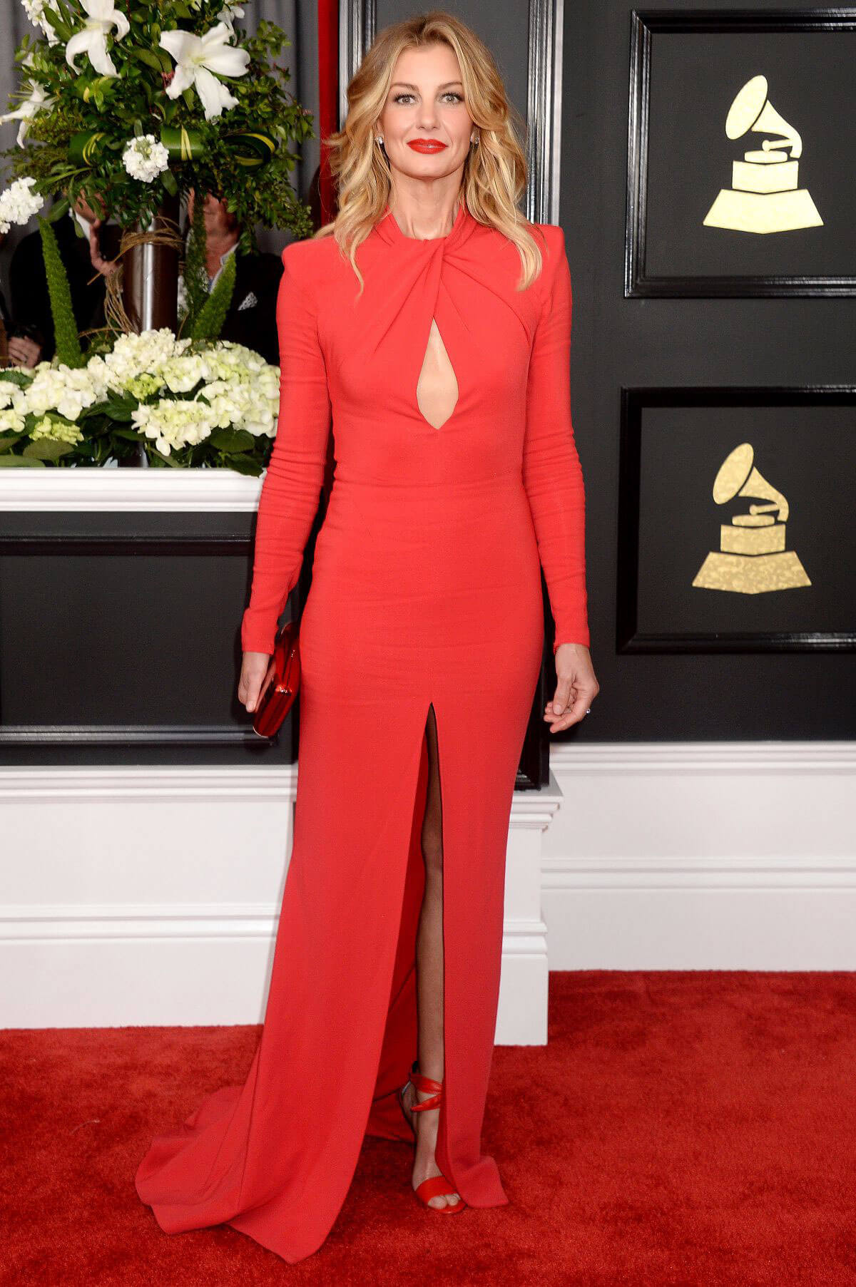 Faith Hill at 59th Annual Grammy Awards in Los Angeles