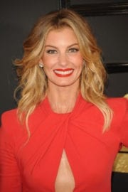 Faith Hill at The 59th Grammy Awards in Los Angeles