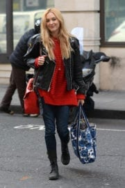 Fearne Cotton Arrives at BBC Radio 2 in London