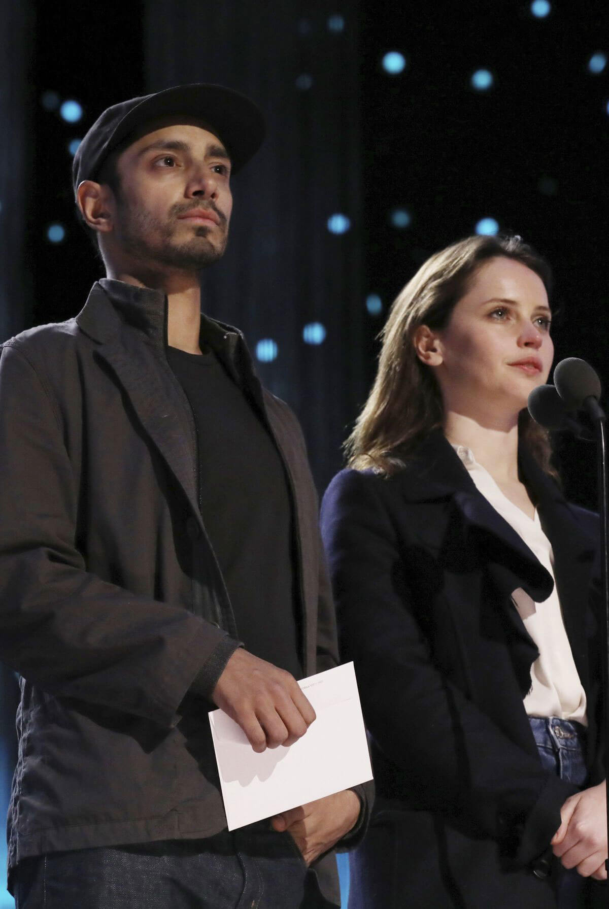 Felicity Jones Stills at Rehearsals for the 89th Annual Academy Awards in Hollywood