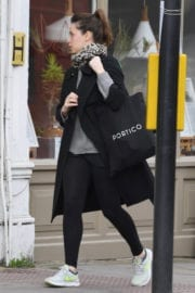 Felicity Jones Stills Out and About in London
