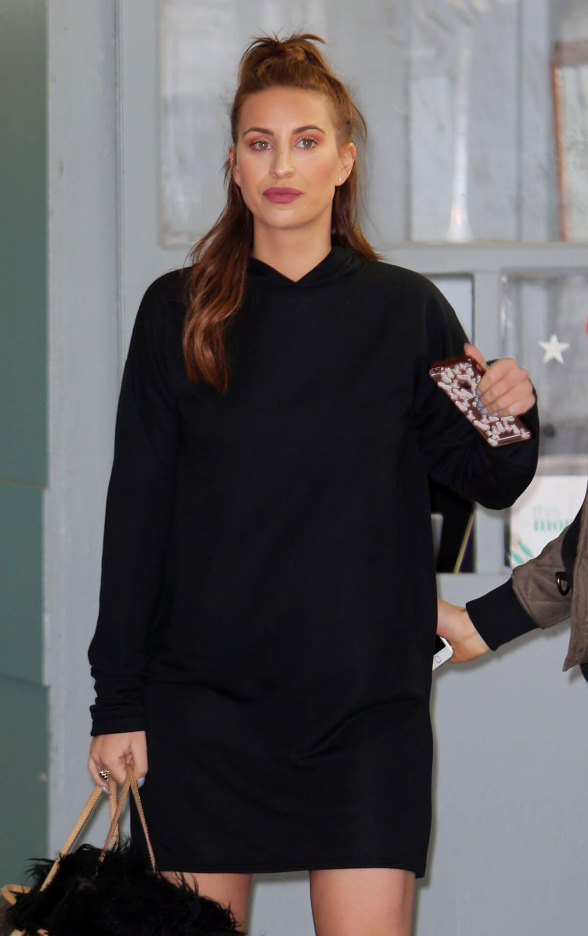Ferne McCann Stills Leaves ITV Studios in London