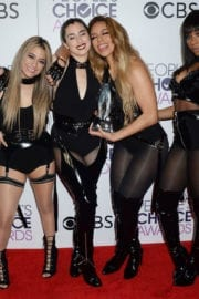 Fifth Harmony at 43rd Annual People's Choice Awards in Los Angeles