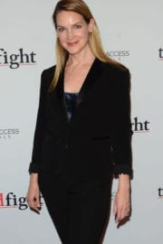 Francie Swift at 'The Good Fight' Premiere in New York