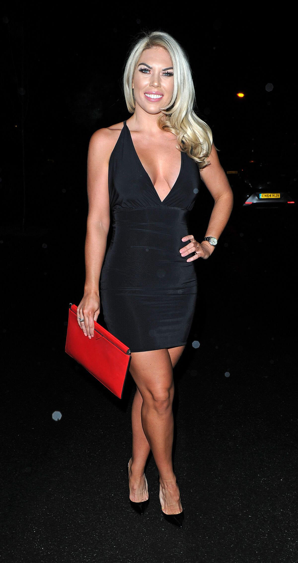 Frankie Essex Arrives at STK Restaurant in London