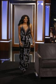 Gabrielle Union at Jimmy Kimmel Live in New York