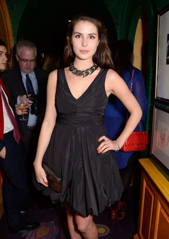 """Genevieve Gaunt Stills at """"Young Bright Things"""" at Annabel's in London"""