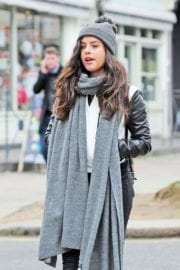 Georgia May Foote Stills Out and About in Primrose Hill