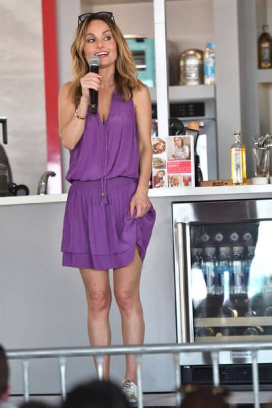 Giada De Laurentiis Stills at Goya Foods Grand Tasting Village in Miami