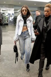 Gigi Hadid All in Jeans Out in New York