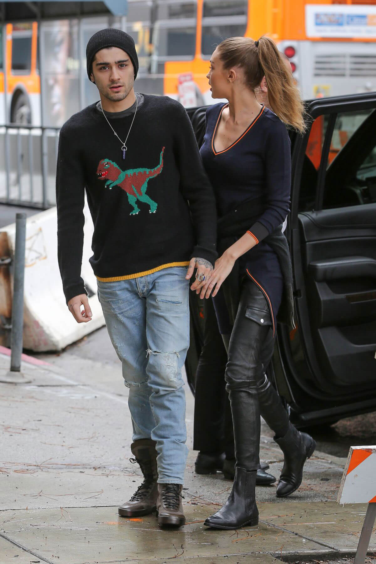 Gigi Hadid and Zayn Malik Out in Los Angeles