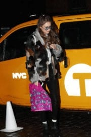 Gigi Hadid Arrives Back to Her Apartment in New York