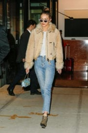 Gigi Hadid Heading to the Set of 'Ocean's Eight' in New York