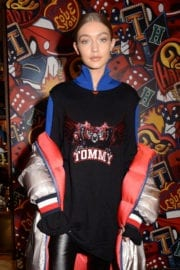 Gigi Hadid Stills at Tommy X Gigi Capsule Collection Launch in London