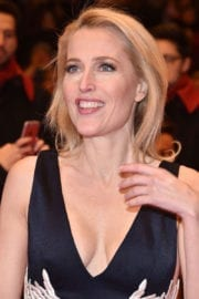 """Gillian Anderson Stills at """"Viceroy's house"""" Premiere at 2017 BIFF in Berlin"""