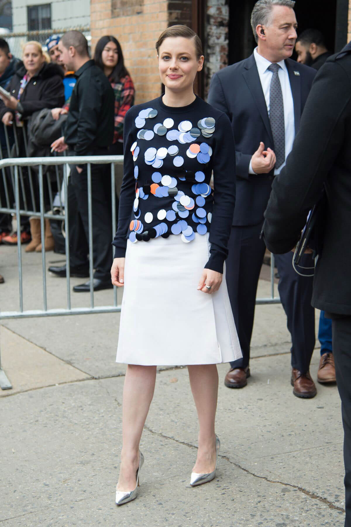 Gillian Jacobs Leaves a Netflix Event in New York