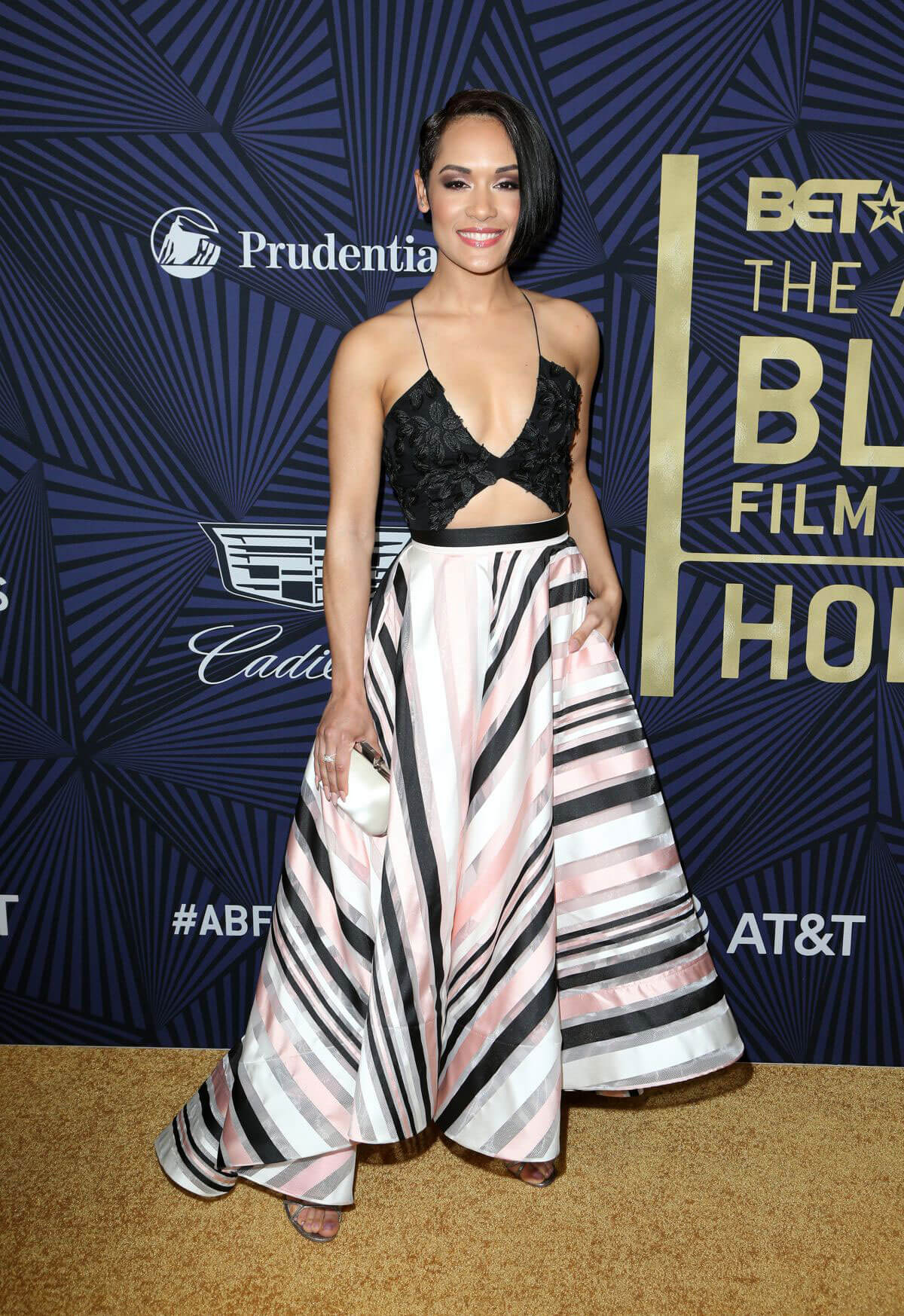 Grace Gealey Stills at Bet's 2017 American Black Film Festival Honors Awards