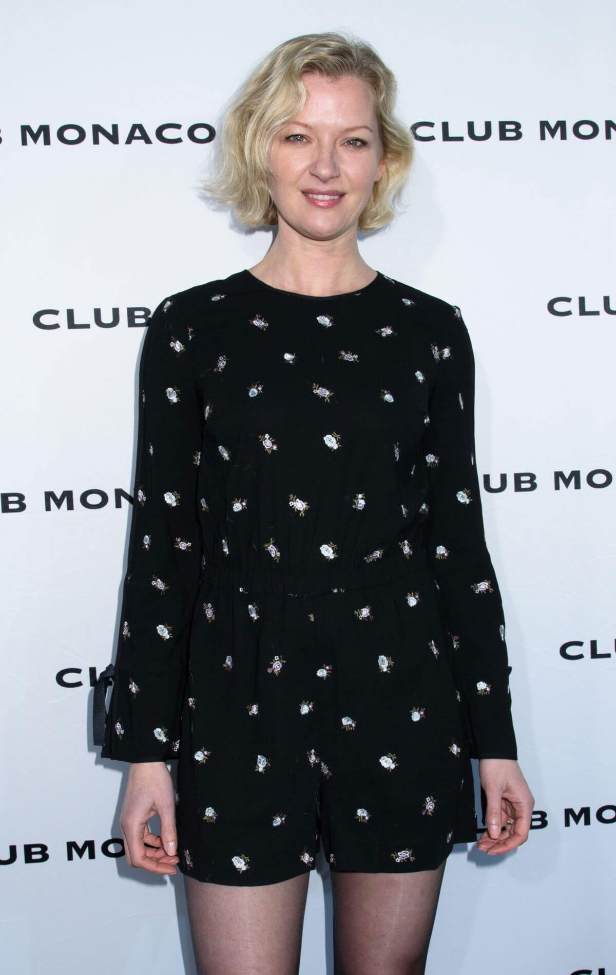 Gretchen Mol at Club Monaco Fashion Presentation in New York