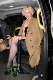 Gwendoline Christie Stills at Burberry Fashion Show After Party in London