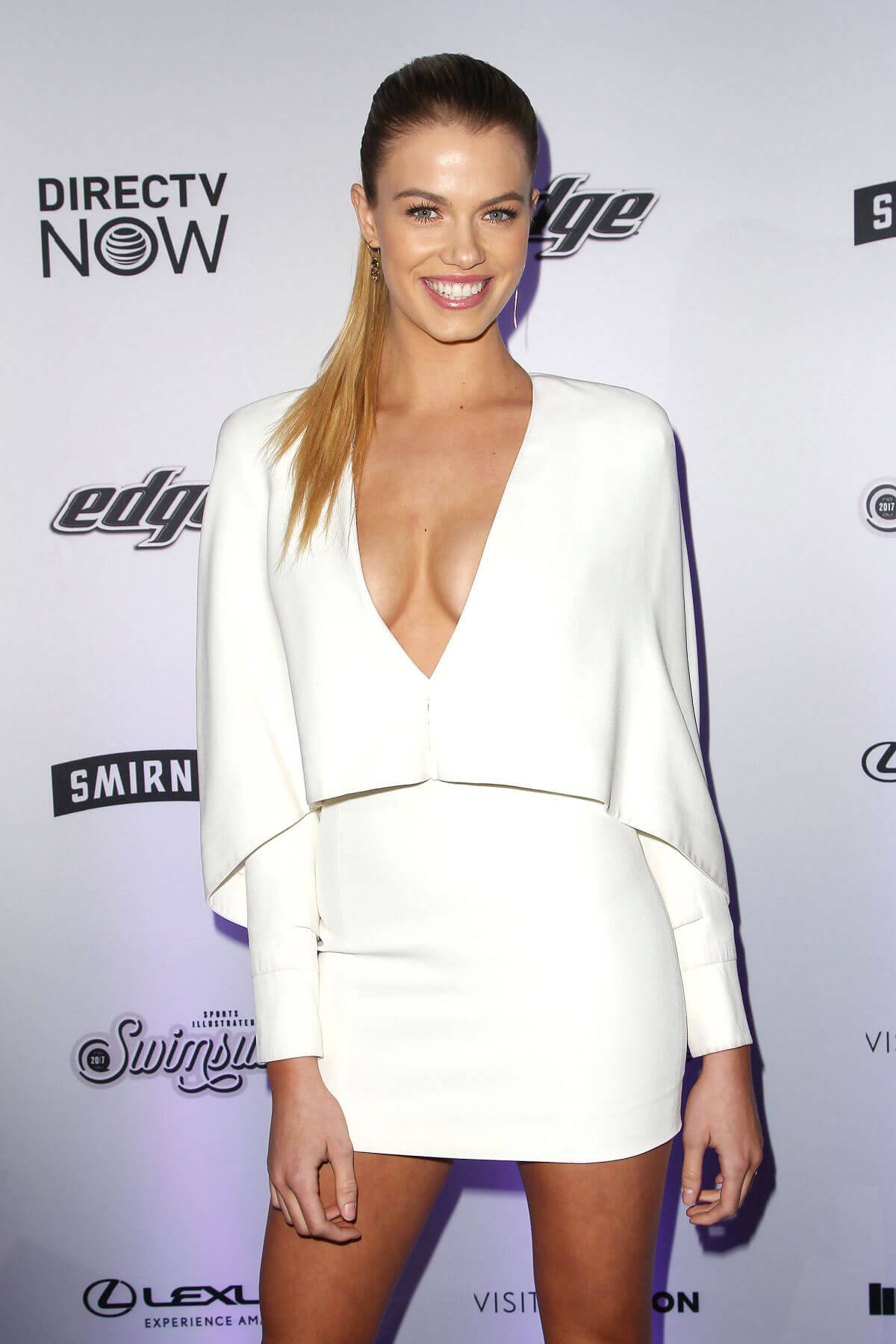 Hailey Clauson Stills at Sports Illustrated Swimsuit Edition Launch in New York