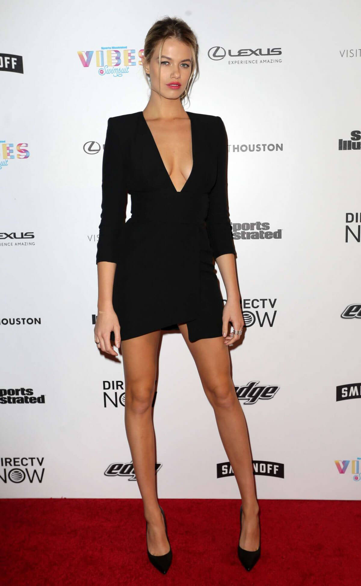 Hailey Clauson Stills at Vibes by SI Swimsuit 2017 Launch Festival in Houston