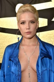 Halsey at 59th Annual Grammy Awards in Los Angeles
