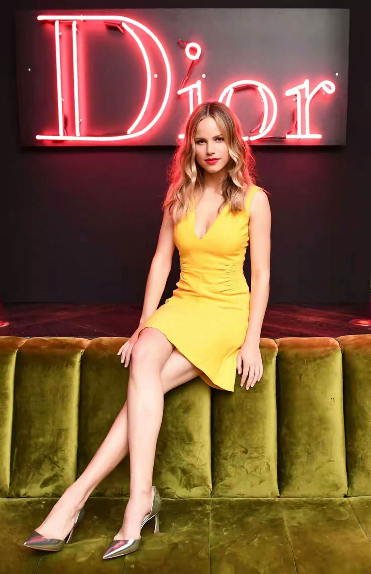Halston Sage at Dior Party at Delilah in West Hollywood