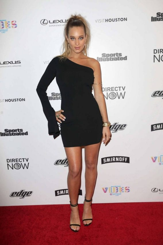 Hannah Jeter Stills at VIBES by SI Swimsuit 2017 Launch Festival