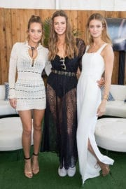 Hannah Jeter Stills at VIBES by SI Swimsuit 2017 Launch Festival in Houston