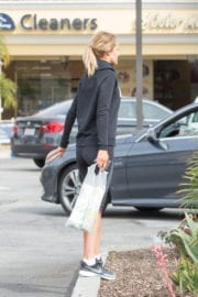 Hayley Roberts Stills Out and About in Calabasa