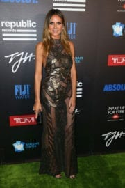 Heidi Klum at Republic Records Grammy After Party in West Hollywood
