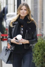 Heidi Klum Out and About in New York