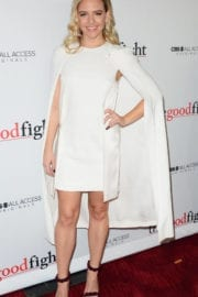 Helene Yorke at 'The Good Fight' Premiere in New York