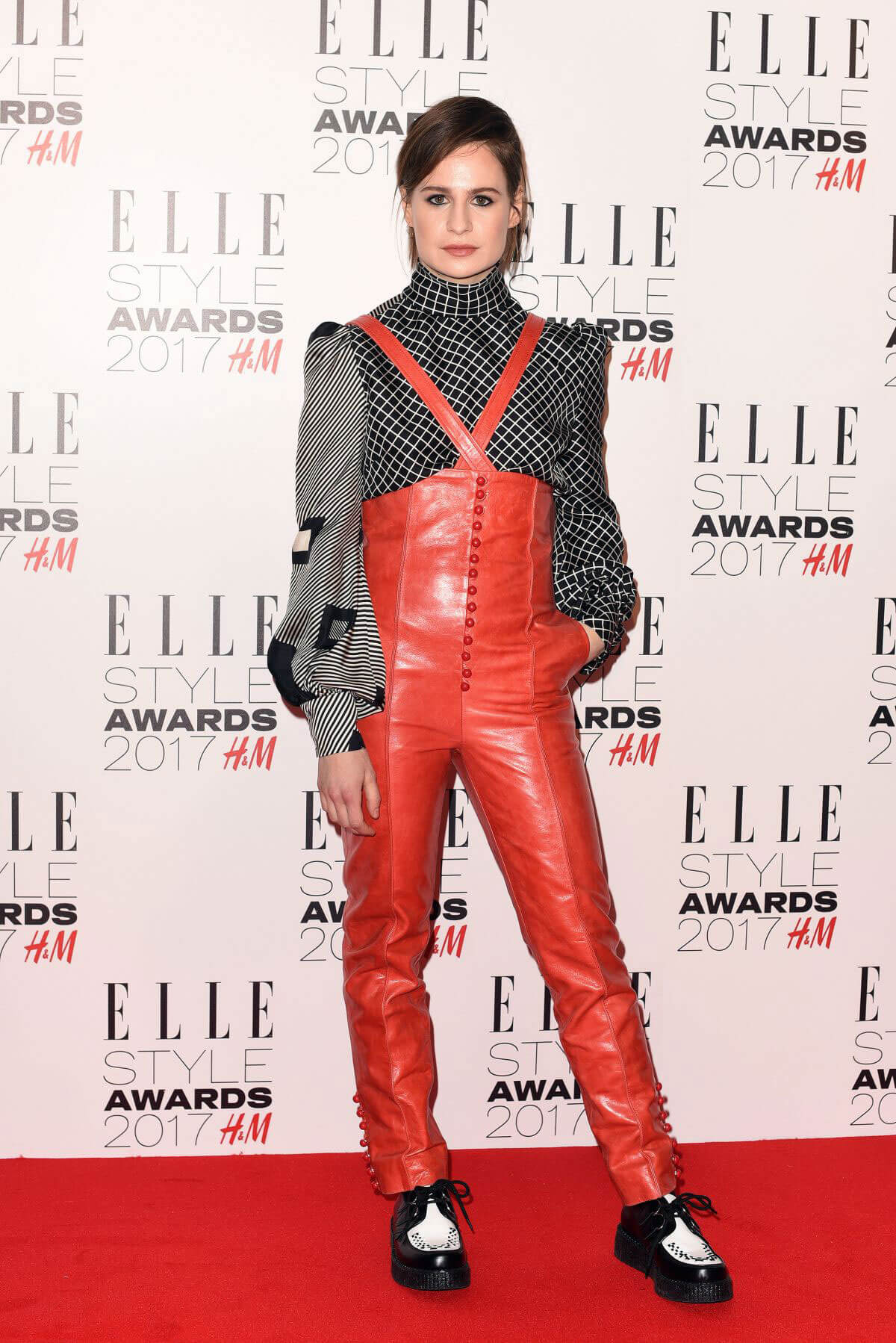 Heloise Letissier at Elle Style Awards 2017 in London