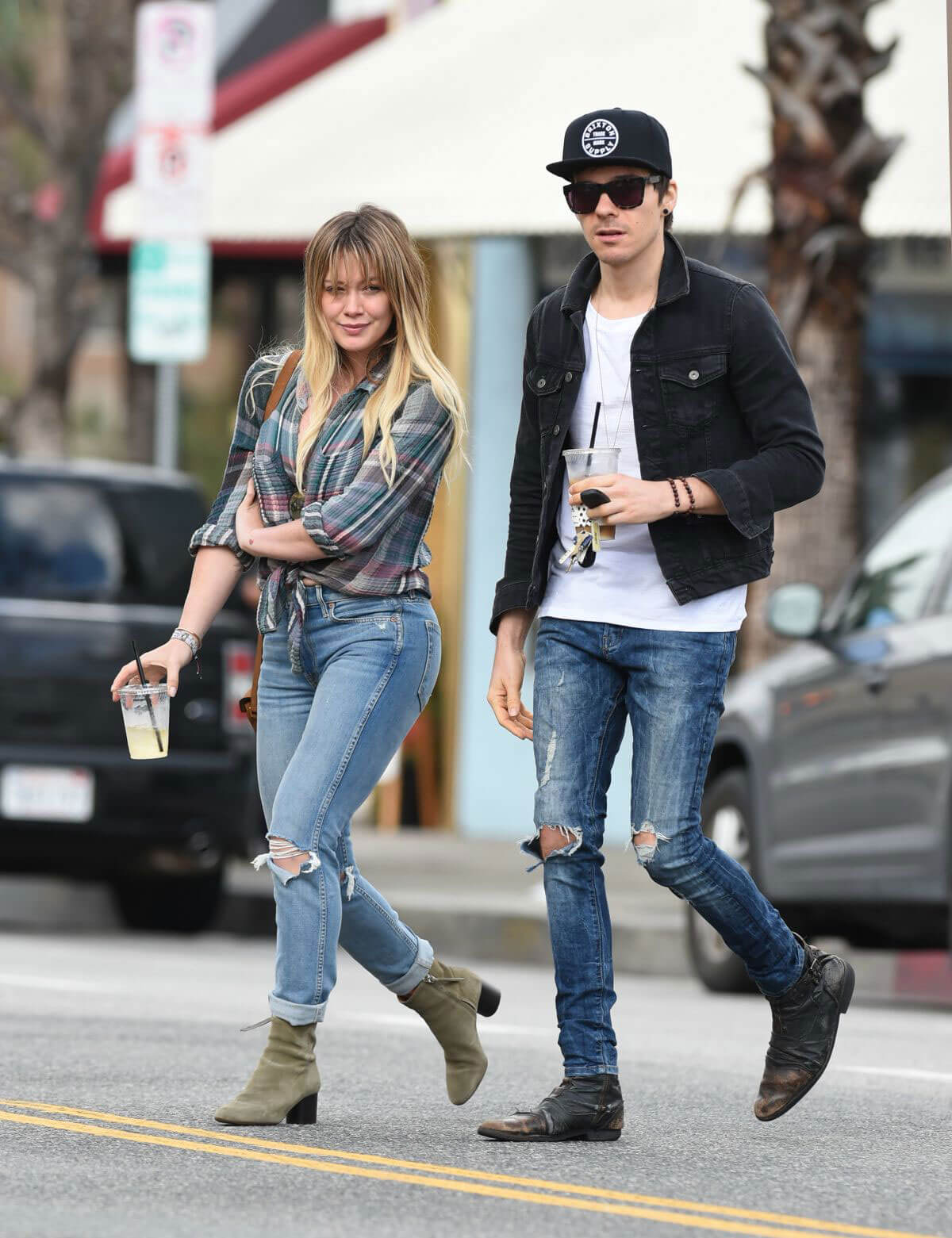 Hilary Duff and Matthew Koma Out in Beverly Hills