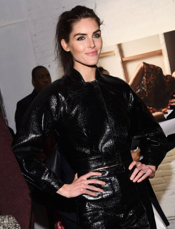 Hilary Rhoda Stills at Zac Posen Fashion Show at New York Fashion Week
