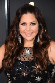 Hillary Scott at 59th Annual Grammy Awards in Los Angeles