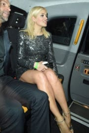 Holly Willoughby Stills Leaves Brit Award After Party in London