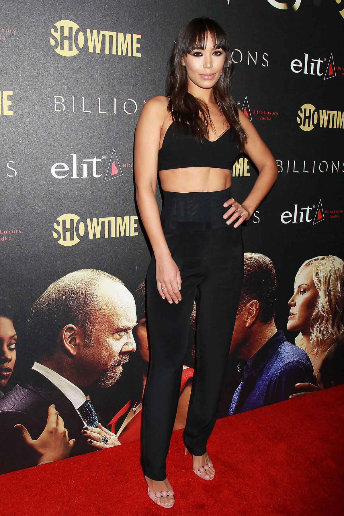Ilfenesh Hadera at 'Billions' Season 2 Premiere in New York