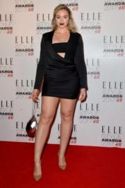Iskra Lawrence at Elle Style Awards 2017 in London