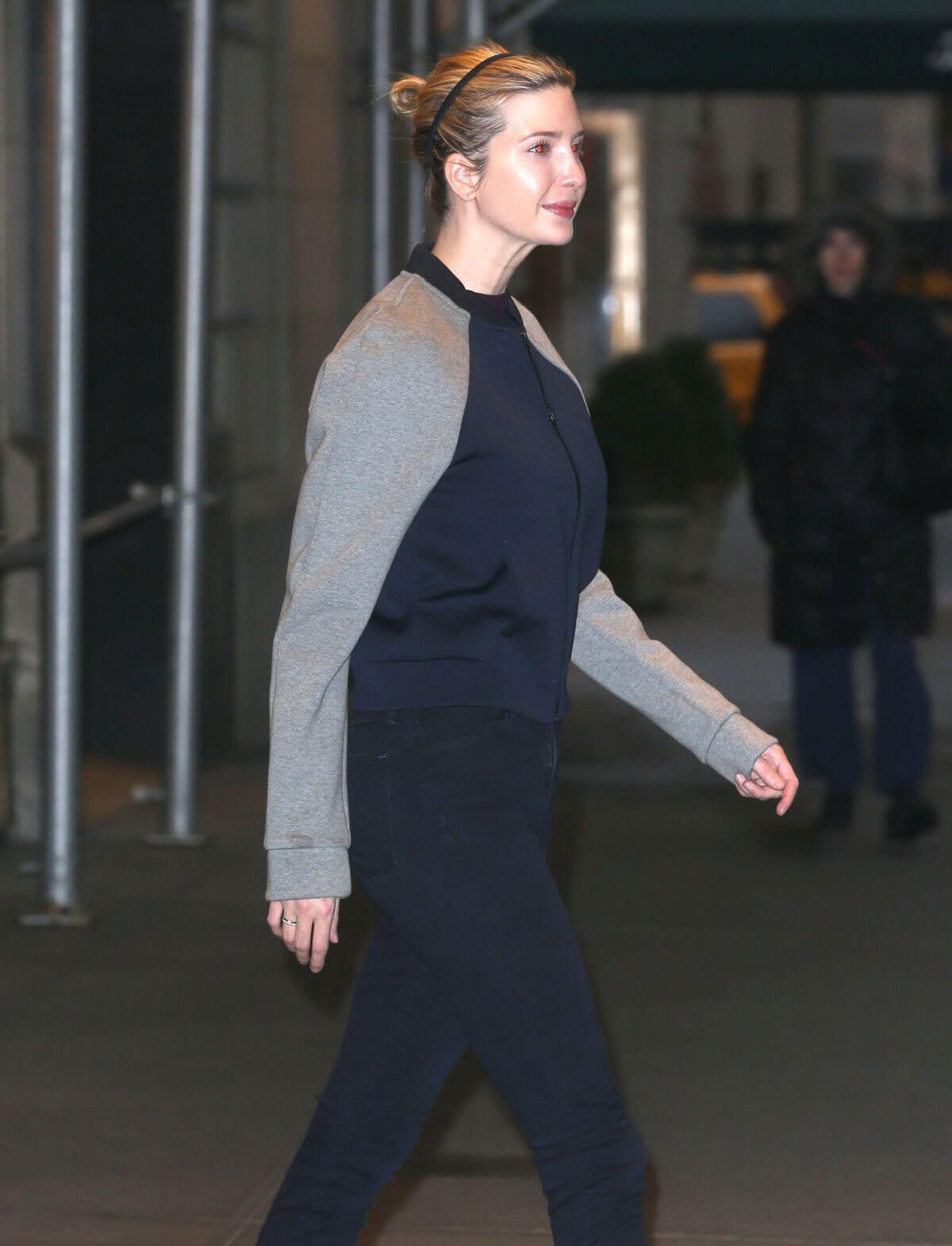 Ivanka Trump Heading To A Gym in New York