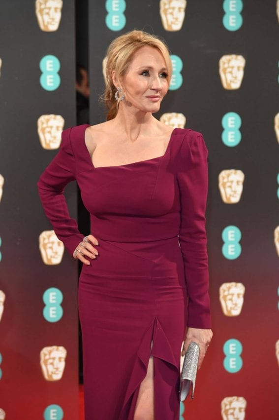 J. K. Rowling Stills at Bafta 2017 Awards in London