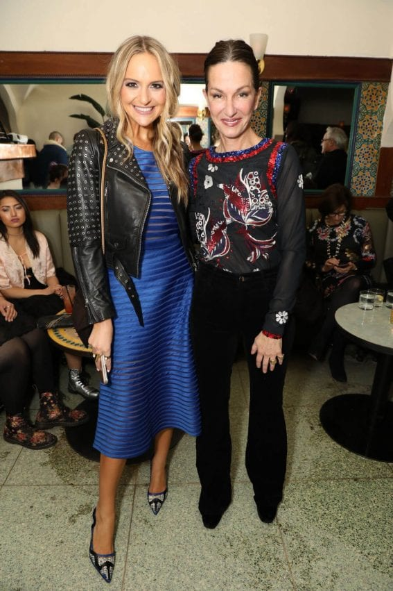 Jackie Miranne and Cynthia Rowley at Cynthia Rowley NYFW Party in New York