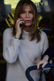 Jaclyn Smith Out For Shopping in Beverly Hills