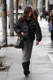 Janice Dickinson Out Shopping in Beverly Hills