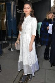 Jasmine Thompson Stills at Bora Aksu Fashion Show at London Fashion Week