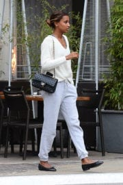 Jasmine Tookes Stills Out and About in West Hollywood