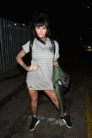 Jemma Lucy Stills Leaves Victoria Warehouse in Manchester