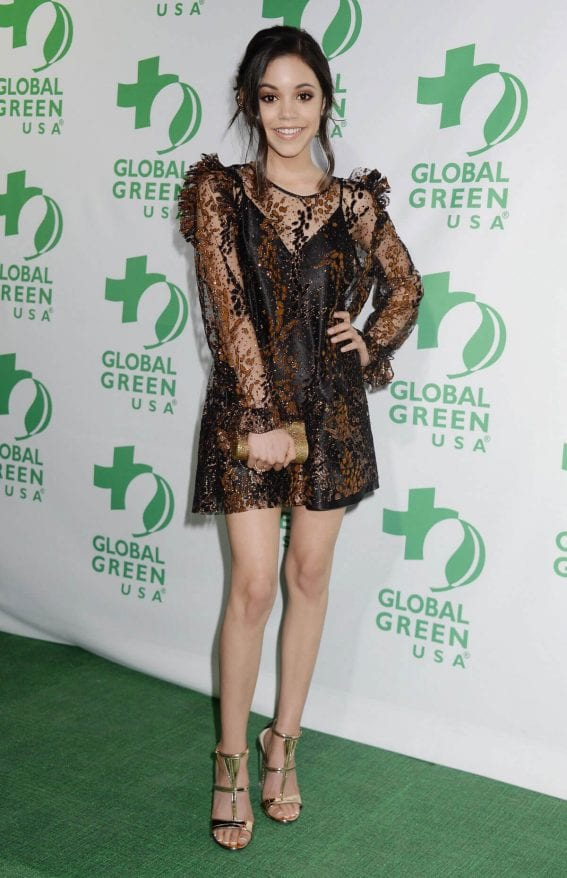 Jenna Ortega Stills at 14th Annual Global Green Pre Oscar Party in Los Angeles