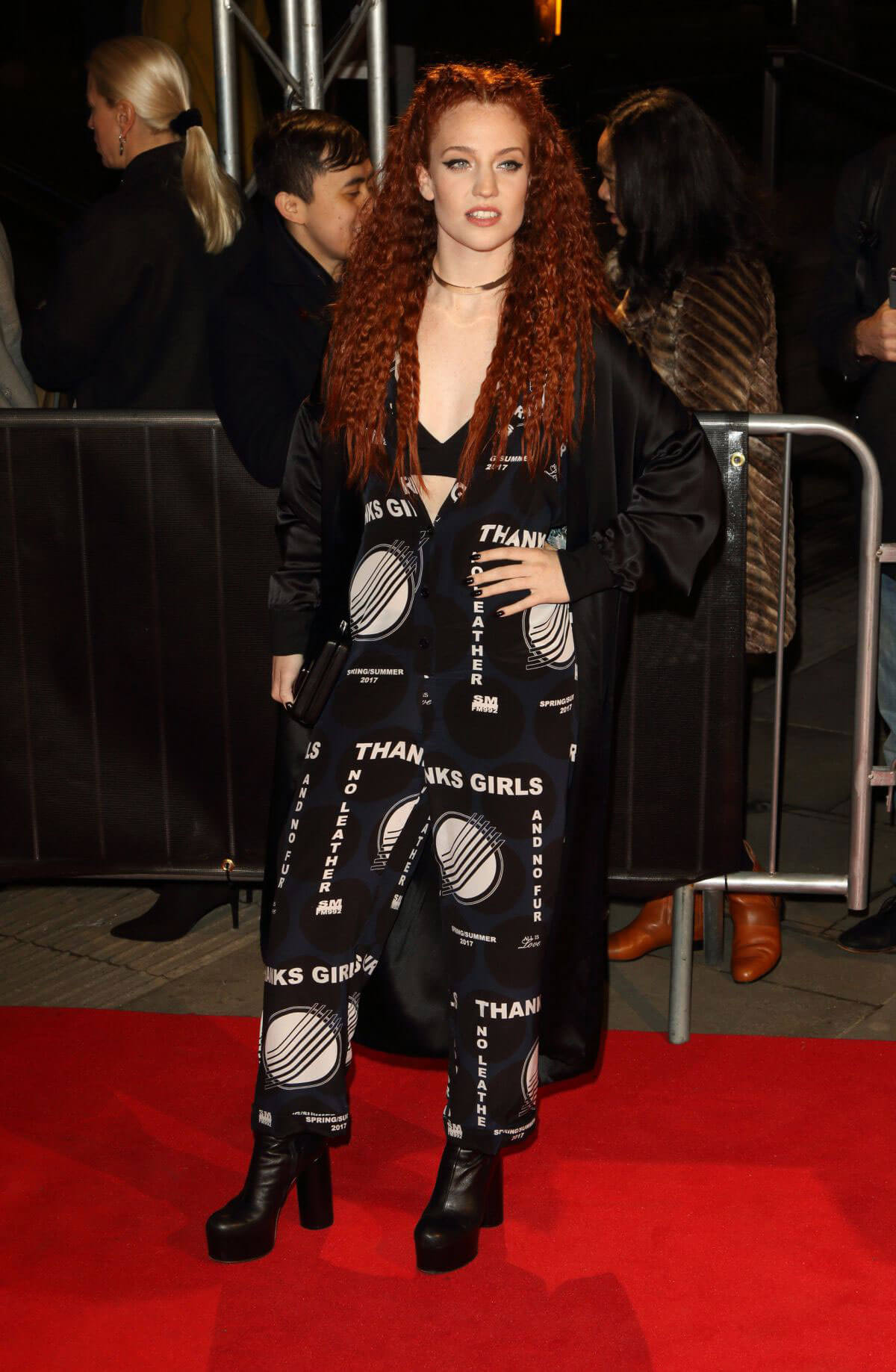 Jess Glynne Stills at The Naked Heart Foundation Fabulous Fund Fair in London
